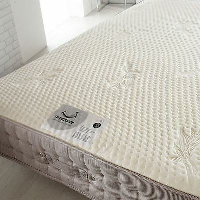 Happy Beds Bamboo Vitality 2000 Pocket Sprung Mattress Handmade Memory Foam 4