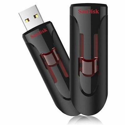 SanDisk 16GB 32GB 64GB 128GB Cruzer Glide USB 3.0 Flash Drive SDCZ600 Retail Lot 2