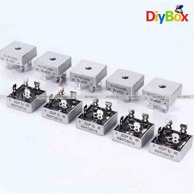 50A 1000V Metal Case Single Phases Diode Bridge Rectifier KBPC5010 D