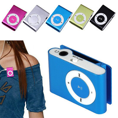 Mini USB Clip Sport MP3 Player Walkman Support Up To 64GB Micro SD Memory Card 3