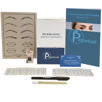 Microblading Starter Kit Permanent Makeup with Doreme Ink Microblades U Choose 6