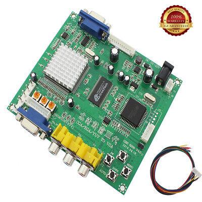 Gonbes GBS8200 CGA/EGA/YUV/RGB To VGA Arcade Game Video Converter Latest aga 4