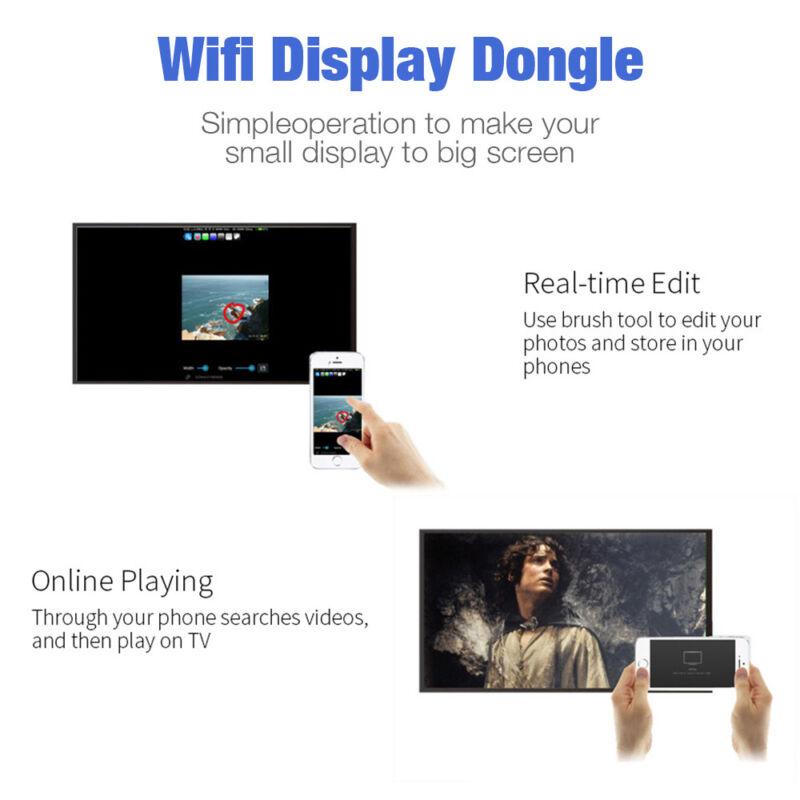 pour Google Chromecast 2 4K HDMI WiFi Media Vidéo Dongle youtube Miracast 3
