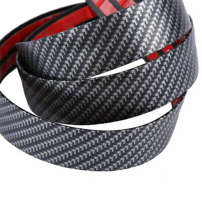 3CM*1M Car Carbon Fiber Rubber Edge Guard Strip Door Sill Protector Accessories 8