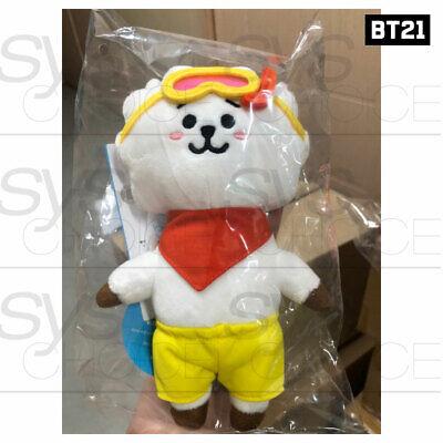 BTS BT21 Official Authentic Goods Von Voyage Summer Doll 15cm 5.9in + Tracking# 8