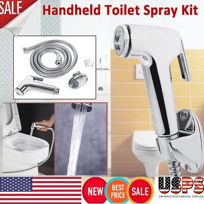 Abs Hand Held Bidet Spray Toilet Attachment Cloth Diaper Sprayer
