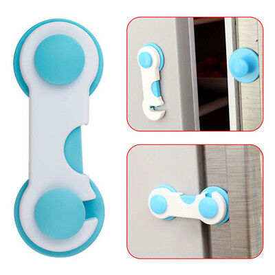 Toddler Baby Lock Proof Cabinet Drawer Fridge Cupboard Door Safety Protective Ac 3