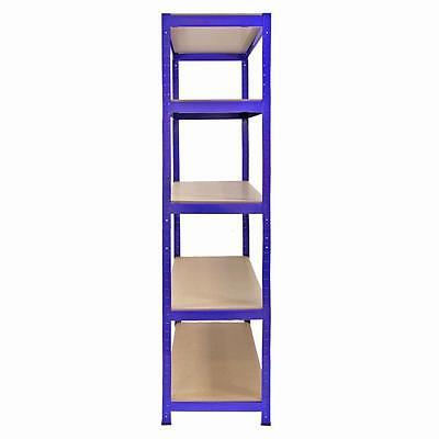 3 Racking Shelving Bays 5Tier Garage Unit Storage Racks Heavy Duty Steel Shelves 4