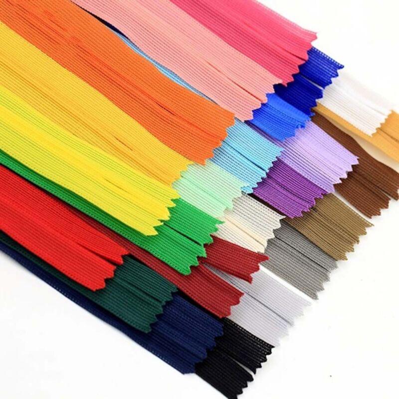 Lots Colors Resin Nylon Zipper For Sweater Jacket Handbags DIY Tailor Sew Craft 11