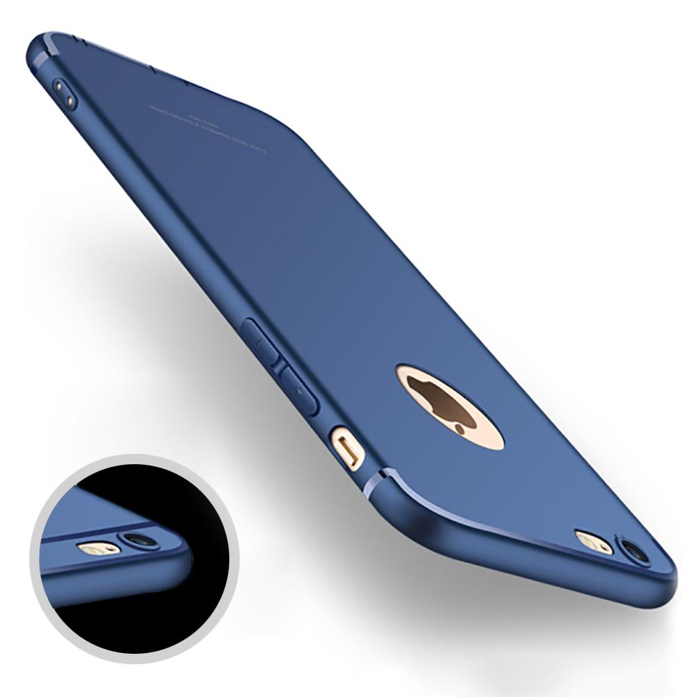 Antichoc amorti coque case protection mat iPhone 6s 7 8 Plus X XR XS Max 11 Pro 7