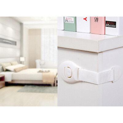 10X Kids Child Baby Proofing Safety Lock Door Fridge Cupboard Cabinet Drawer Pet 10