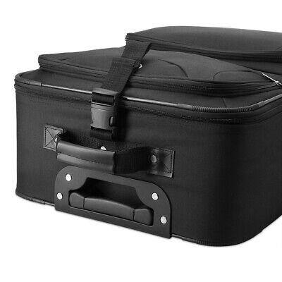 Kofferset Reisekoffer 5 Taschen Trolley Reise Koffer Set Tasche S M L XL schwarz 6