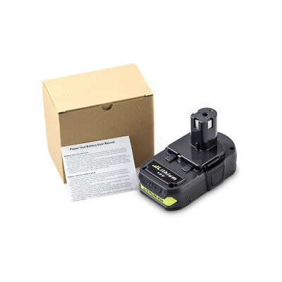 For RYOBI P107 2.5Ah 18V battery ONE+ MAX P104 Lithium P108 P105 P103 P102 P106 8