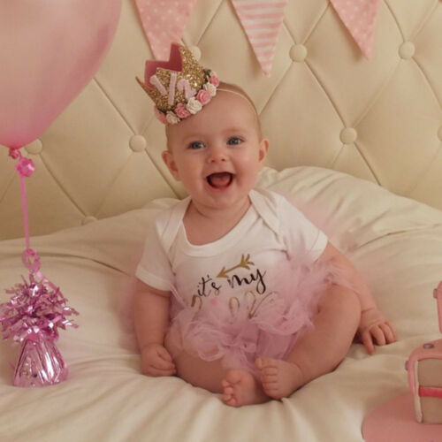 Baby Princess Tiara Crown Boy Girl 1 2 3 Year Old Birthday Hat Sparkle 6 Of 10 See More