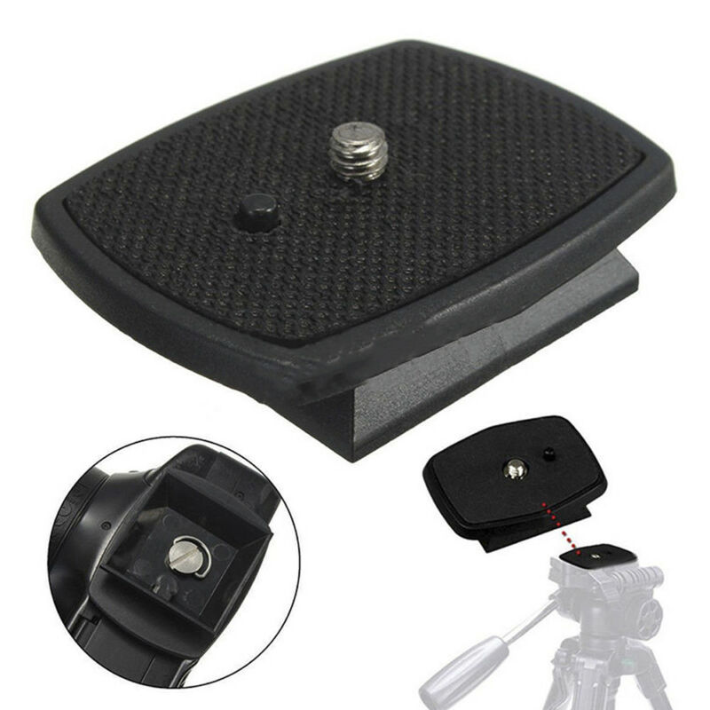 Tripod Quick Release Plate Screw Adapter Mount Head For DSLR SLR Digital-Camera 2