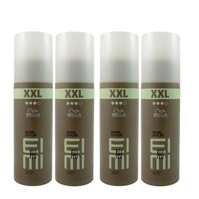 4 x Wella EIMI Pearl Styler XXL Styling Gel 150 ml Set Sondergröße