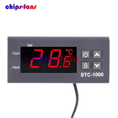 STC-1000 Temperature Controller Temp Sensor Thermostat Control Digital 110V-220V 2