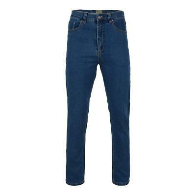 Mens New Kam Regular fit stretch Stone wash Jeans in Big Tall king Plus Sizes