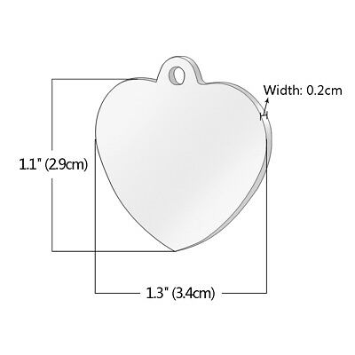 Stainless Steel Personalized Dog Tags Bone Round Military ID Name Tags Sliver 5