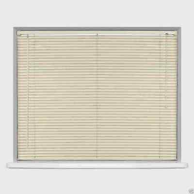 Easy Fit PVC Venetian Window Blinds Long 150 - 210CM DROP STANDARD Trimmable 3