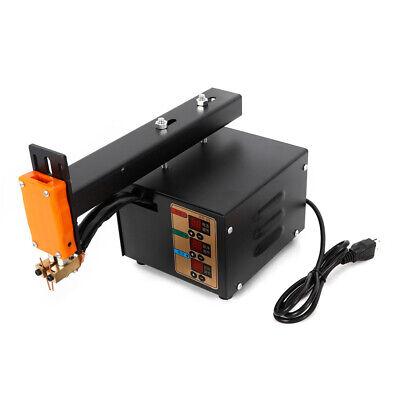 Handheld Battery Pack Spot Welder 3kw Pulse Adjustable Welder Led Light NEW 4
