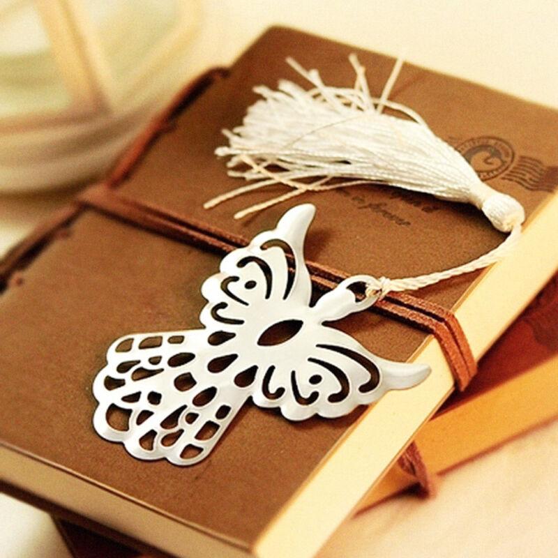 Holy Guardian ANGEL Alloy Bookmark Tassels Stationary Christmas Wedding Gift Hot