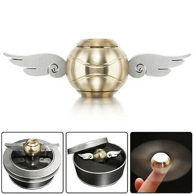 Harry Potter Gold Snitch Hand Fidget Spinner Wings Stress Relief Toys IN US 4