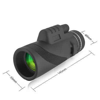 40x60 Clip-on Optical Zoom HD Telescope Camera Lens For Universal Cell Phone US 9