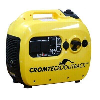 Inverter Generator Cromtech Pure Sine Wave 2.4 kVA Quiet Portable Power Camping 2