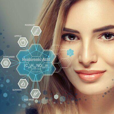 Hyaluronic Acid Gel Cream - Anti-Aging Wrinkle Face & Eye (HA) Serum Moisturizer 5