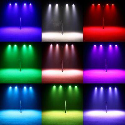 2x 105W RGBW Wash 7LED 9/14CH DMX Mini Moving Head Stage Light Lighting DJ Disco 4