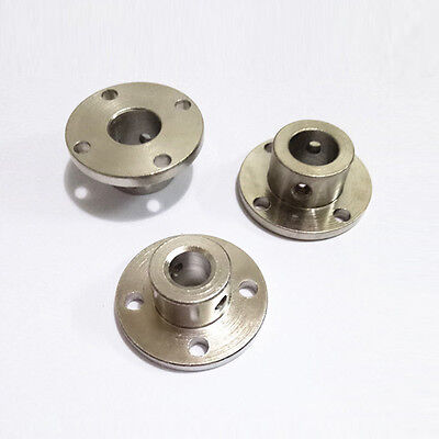 Metal Bearing Seat 3/4/5/6-12mm Rigid Flange Coupling Motor Guide Shaft Coupler