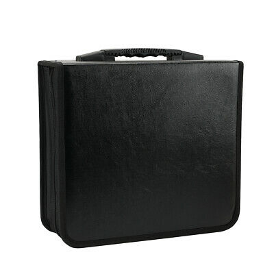 400 Discs Portable CDs DVD Wallet Holder Bag Album Organizer Media Case Storage 6
