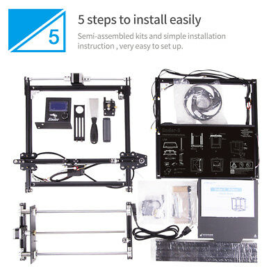 Used Creality Ender 5 3D Printer 220X220X300mm 7