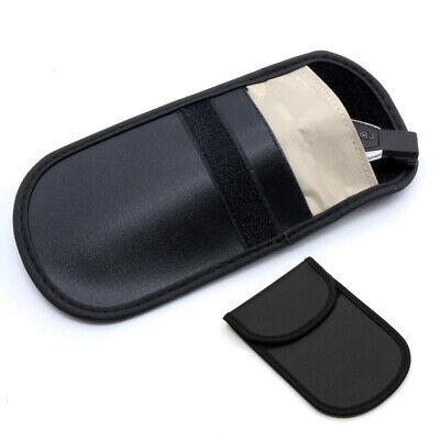 2pcs Car Key Keyless Entry Anti-Theft Fob Signal RFID Blocker Pouch Faraday Bag 2