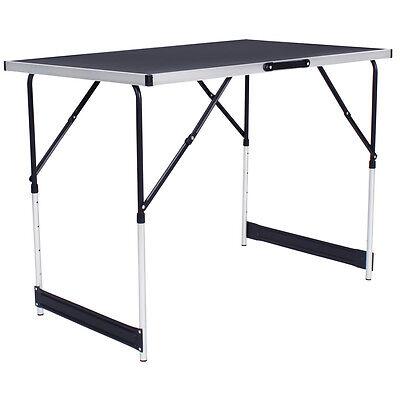 Tables à tapisser en aluminium ensemble de 3 tables tréteaux table de travail 2