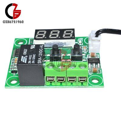 -50-110°C Red W1209 Digital thermostat Temperature Control Switch 12V + Sensor 7