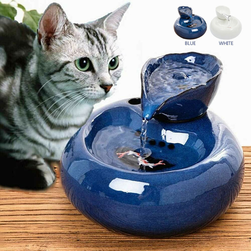Pet Drinking Fountain Automatic Circulating Water Dispenser Pet Cat Dog Drinker 3