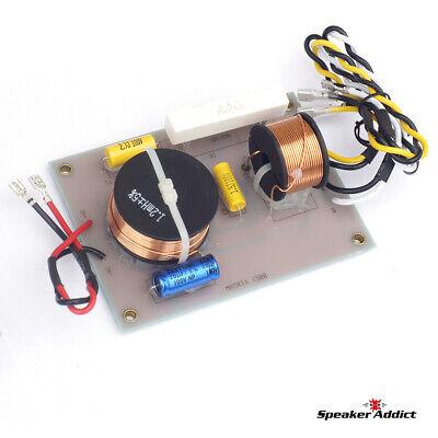 PAIR MATRIX 1500 2Way 1.8Khz Pro Speaker Passive Crossover w HF Driver horn EQ 5