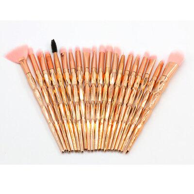 Professional Make up Brushes Set Eye Shadow Eyebrow Makeup Kit Cosmetic Tools UK 2