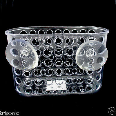 Home & Garden Shower Caddy Bath Bathroom Organizer Storage Basket Soap Holder W/ Suction Cups Bath Caddies & Storage