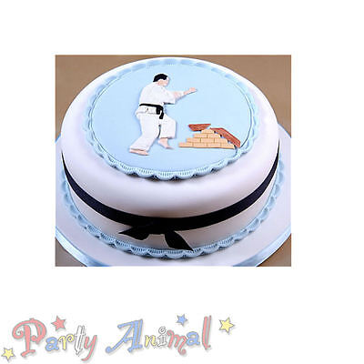 Patchwork Cutters KARATE JUDO MAN Sugarcraft Cake Decorating