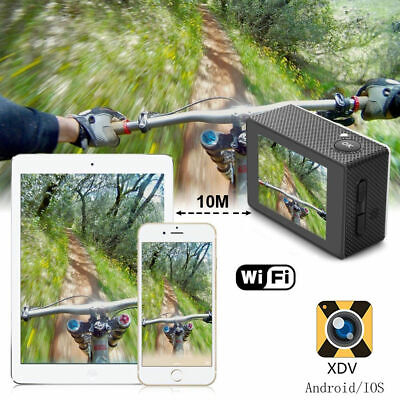 Ultra 4K Full HD 1080P Video Recorder Sports Camera WiFi Cam DV Action Camcorder 7