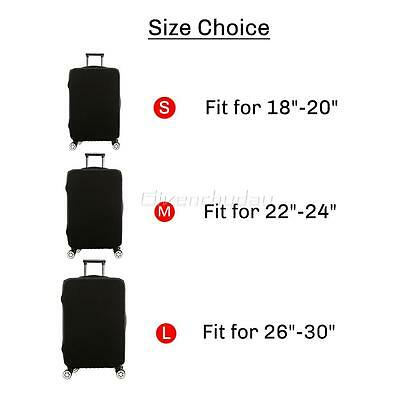 """20-28"""" Luggage Protector Elastic Colorful Cover Bags Dustproof Anti Scratch New 5"""