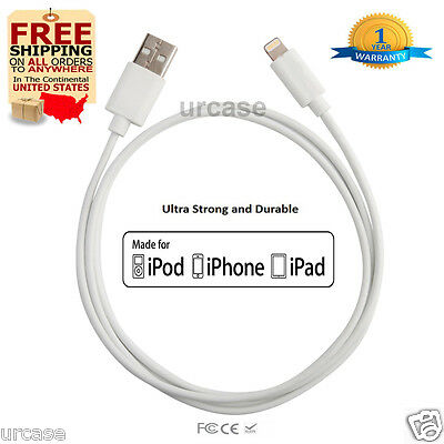 10ft Cable Apple Certified MFI Lightning Sync Data Cord Charger iPhone XS Max 6s