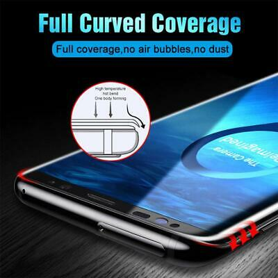 For Samsung Galaxy S9 S8 Plus - FULL COVER 3D Tempered Glass Screen Protector 5