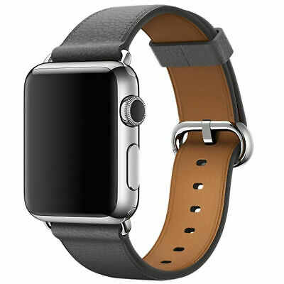 Leather Band Bracelet Strap For Apple Watch Series 4 3 2 1 38mm/40mm/42mm/44mm 11