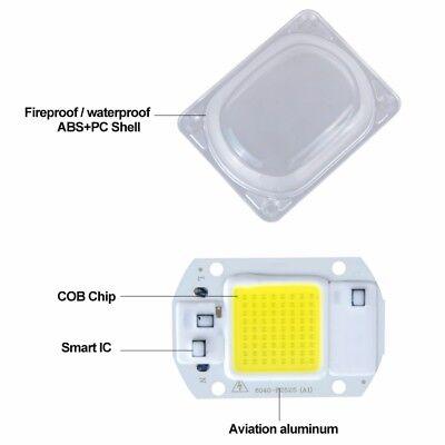 High Power COB LED Chip 20W 30W 50W Warmweiß LED DIY Flutlicht Scheinwerfer 220V 2