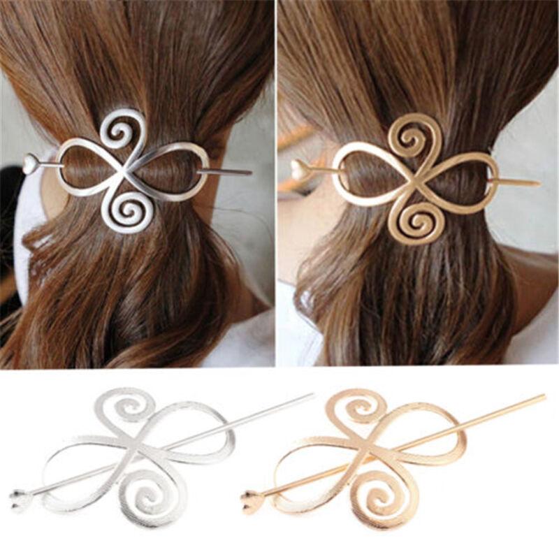 Barrette Shawl Pin Hair Accessories Bun Holder Hairpin Long Hair Slide Clip New 2