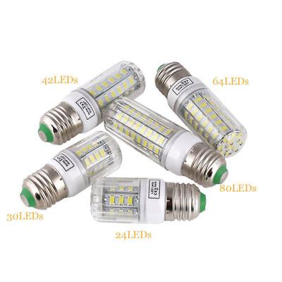 E27 E14 LED MAZORCA Bombilla 45w 30w 25w 20w 15w 12w 7w luz 5730SMD 5